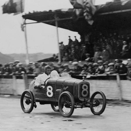 John F Duff au Mans en 1923 en Bentley