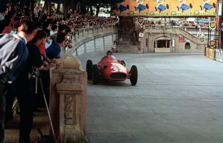 Juan Manuel Fangio à Monte Carlo