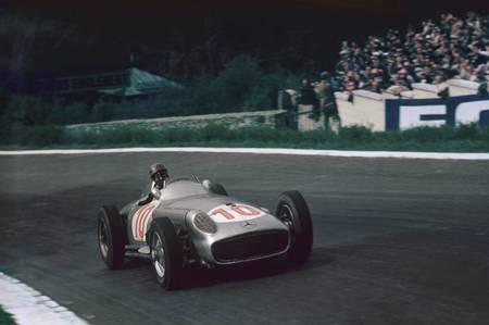 Juan Manuel Fangio en 1955