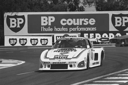 Klaus Ludwig au Mans en 1979 en Porsche