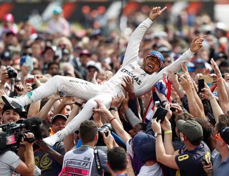 Lewis Hamilton et ses fans