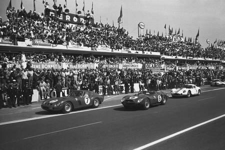 Mike Parkes au Mans en 1962