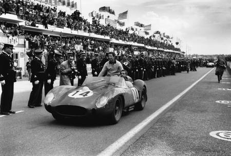 Olivier Gendebien et Phil Hill au Mans en 1958