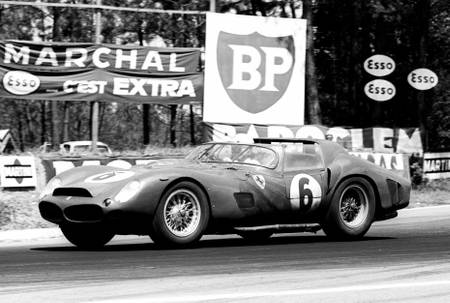 Phil Hill au Mans en 1962