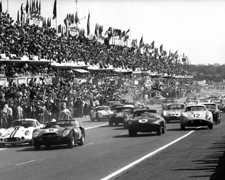 Phil Hill wins at Le Mans in 1962