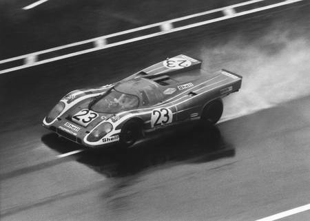 Richard Attwood in Le Mans im Jahr 1079