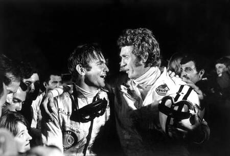 Steve McQueen and Pete Revson