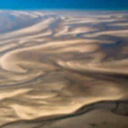 zand bewegingen
