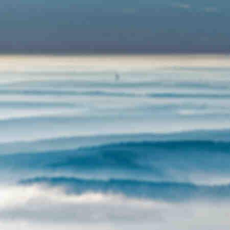 Seinevallei in de mist