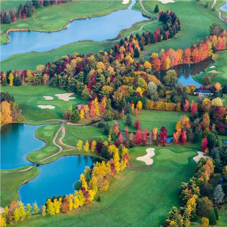 colorful golf