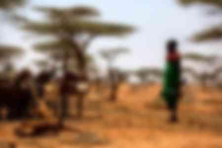 Jeune fille de Samburu