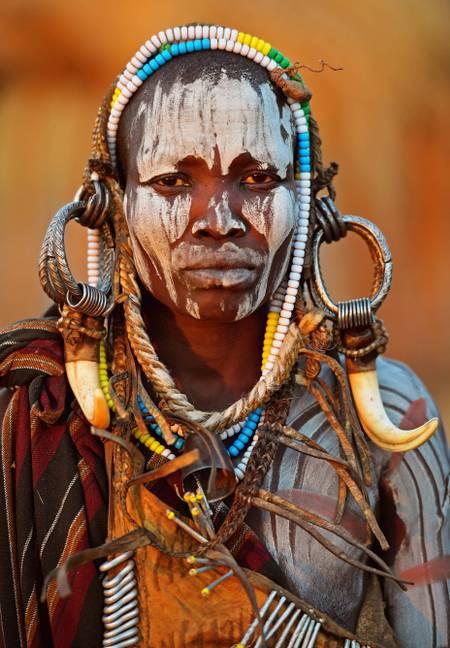 Culture des tribus d'Ethiopie