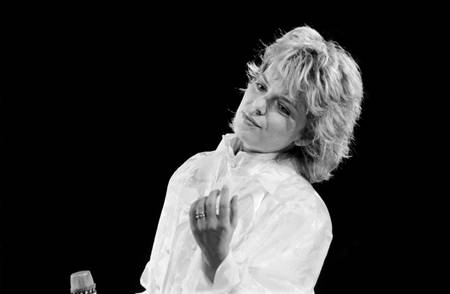 France Gall at the Palais des Sports in 1985