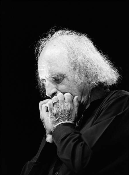 Léo Ferré au Théâtre TLP dejazet à Paris en 1988