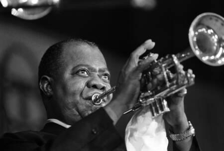 Louis Armstrong im Konzert in Paris 1965