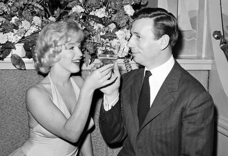 Marilyn Monroe et Yves Montand en 1960