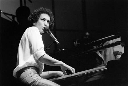 Michel Berger at the Olympia in 1982