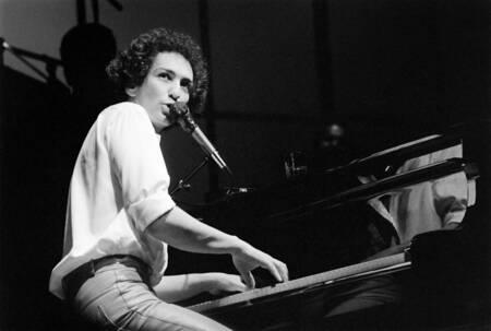 Michel Berger à l'Olympia en 1982