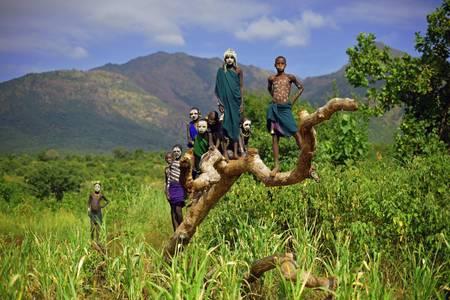 Tribu d'Ethiopie