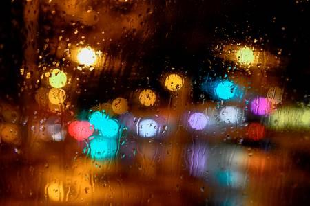 Bokeh under the rain