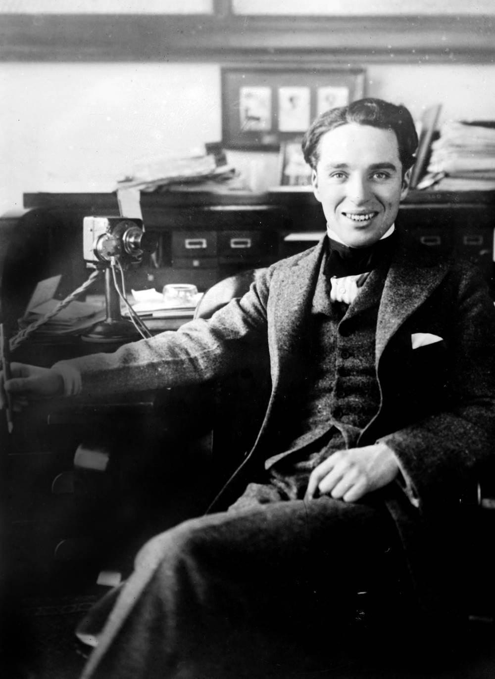 Charlie Chaplin - 1915 - Photographic print for sale