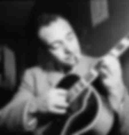 Portrait of Django Reinhardt