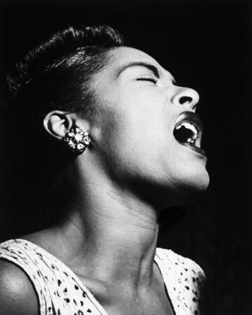 Billie Holiday at club Downbeat