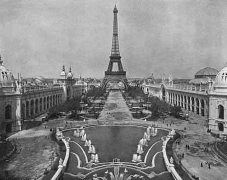 Champ de Mars en 1900