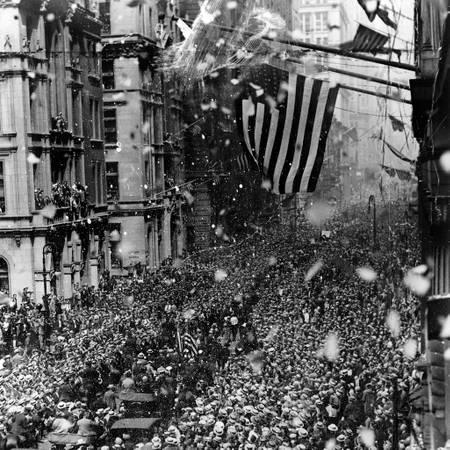 Défilé à Broadway en 1926