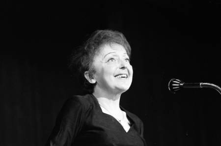 Edith Piaf sings in our country