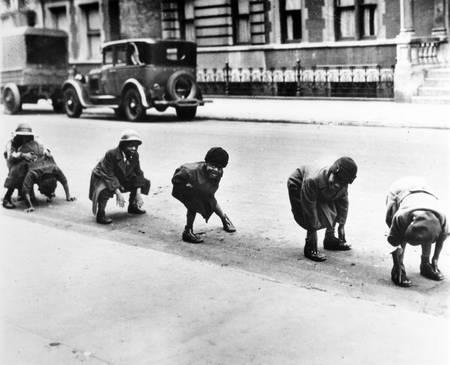 Enfants noirs en 1930