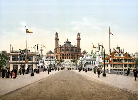 1900 Universal Exhibition in Paris