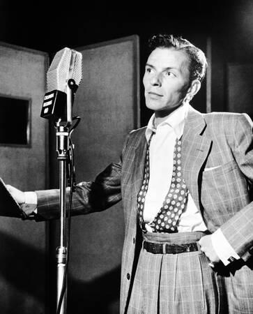 Frank Sinatra im Liederkranzsaal