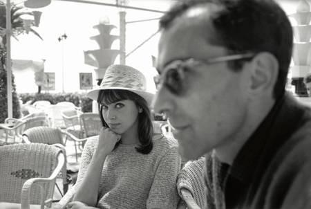 Jean-Luc Godard et Anna Karina
