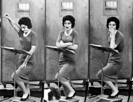 Maria Callas lors de répétitions