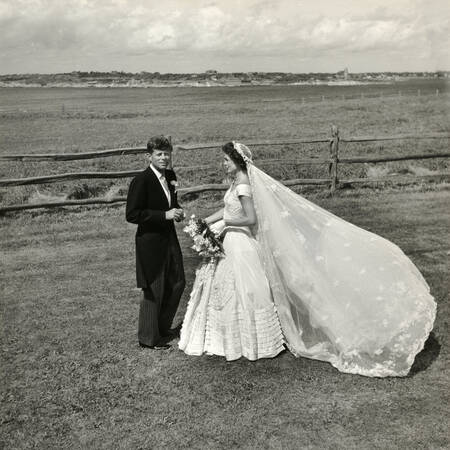 Marriage of John Fitzgerald and Jackie Kennedy