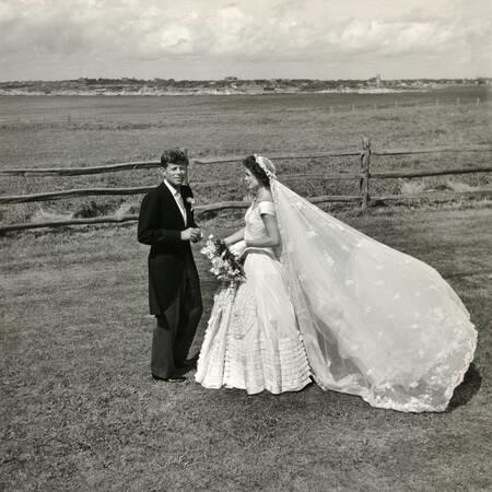 Mariage de John Fitzgerald et Jackie Kennedy