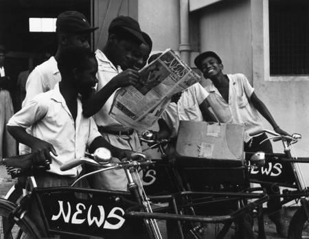 Newsboys à la Barbade