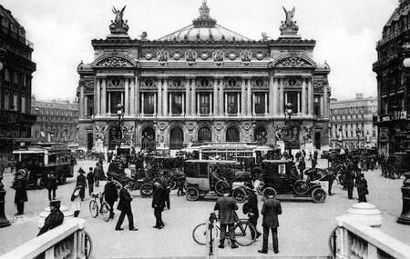 Opera of Paris in 1916