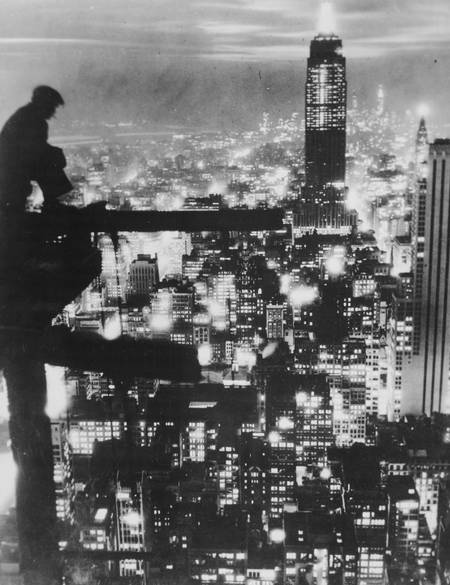 Worker in New York in 1935