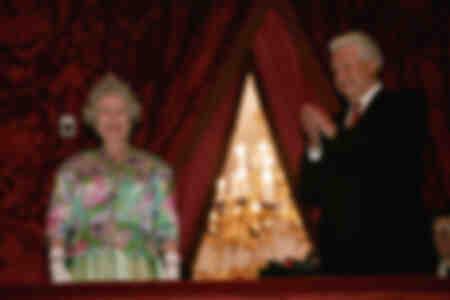 Boris Eltsine et Sa Majesté la Reine Elizabeth II au Théâtre du Bolchoï en octobre 1994