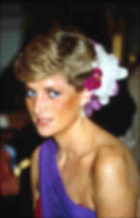 La princesse Diana lors d'une visite officielle en Thaïlande en février 1988