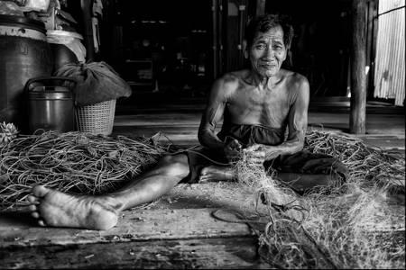 Pêcheur Thaïlandais