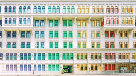 Windows on streets