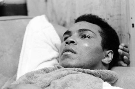 Muhammad Ali rests