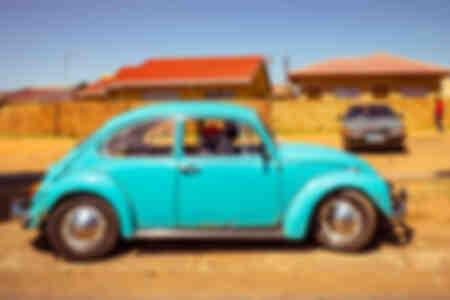 Blue beetle in Soweto