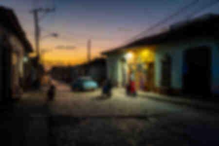 Life in the streets of Trinidad de Cuba