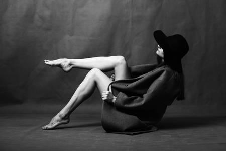 Ballerina in a hat 2