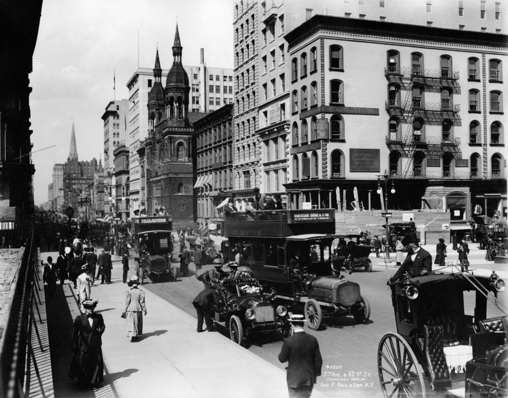 New York and 1909 - Photographic print for sale