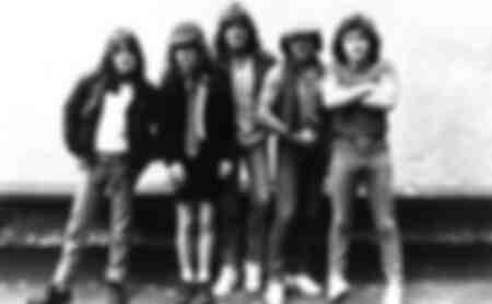AC DC im Jahr 1983